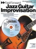 Fast Forward Jazz Guitar Improvisation Guitar Cd