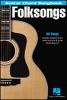 Folksongs Guitar Chord Songbook