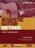 Hamburger David : Dvd Acoustic Guitar Method D.Hamburger 2 Dvds