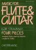 4 Pieces For Flûte (Or Violin) And Guitar
