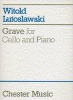 Lutoslawski Witold : Lutoslawski Grave For Cello And Piano