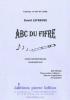 Lefebvre David : Abc Du Fifre