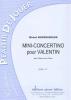 Nierenberger Michel : Mini-Concertino Pour Valentin