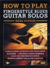Hanson Mark : Dvd How To Play Fingerstyle Blues Guitar Solos Mank Hanson