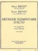 Benoit R. : Methode Elementaire D'Alto Volume 1