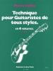 Cullaz : Technique Pour Guitaristes De Tous Styles Volume 4