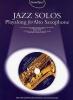 Guest Spot Jazz Solos Alto Sax Cd