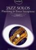 Guest Spot Jazz Solos Tenor Sax Cd