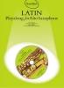 SAXOPHONE Latin : Livres de partitions de musique