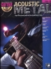 Guitar Play Along Vol.37 Acoustic Metal Tab Cd