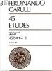 Carulli Ferdinando : 45 Etudes