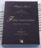 Méthodes et Traités Flûte traversière - Volume 2 - France 1600-1800