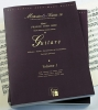 Méthodes et Traités Guitare - 2 volumes - France 1600-1800
