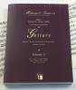 Méthodes et Traités Guitare - Volume 2 - France 1600-1800