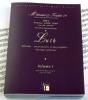 Méthodes et Traités Luth - Volume 1 - France 1600-1800