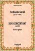 Carulli Ferdinando : Duo Concertant op. 328