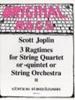 Joplin Scott : Ragtimes for String Quartet/Quintet/Orchestra