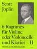 Joplin Scott : Ragtimes, Vol.2