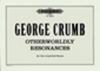 George Crumb : Livres de partitions de musique