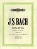 Bach Johann Sebastian : Sonatas