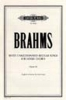 Brahms Johannes : Unaccompanied Secular Songs for Mixed Chorus, Vol.2