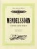 Mendelssohn-Bartholdy Felix : 4 Songs Without Words Opp.38, 53, 62 and 85