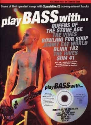 Play Bass With Queens, Sum 41 , Blink 182...Tab Cd