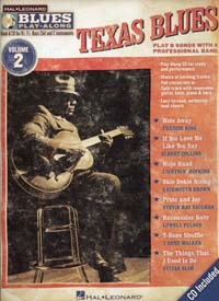 Blues Play Along Vol.2 Texas Blues