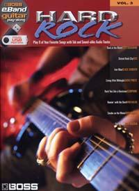 BOSS EBAND GUITAR PLAY ALONG VOL.3 HARD ROCK USB