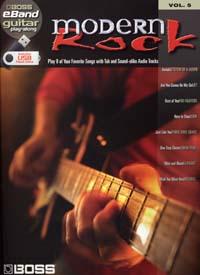 BOSS EBAND GUITAR PLAY ALONG VOL.5 MODERN ROCK USB