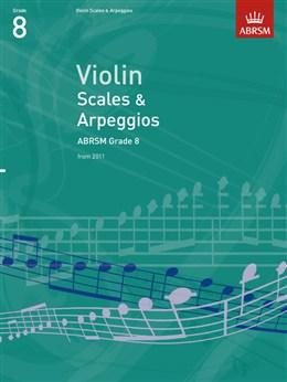 Scales and Arpeggios Violin Gr 8 (NEW)