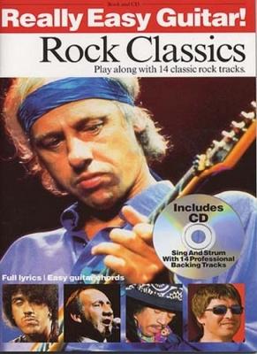 Really Easy Guitar Rock Classics 14 Titres