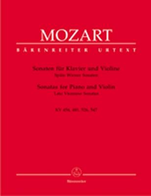 Mozart Wolfgang Amadeus : Sonaten für Klavier und Violine