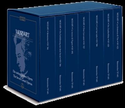 Mozart Wolfgang Amadeus : The Seven Great Operas K. 366, 384, 492, 527, 588, 620, 621