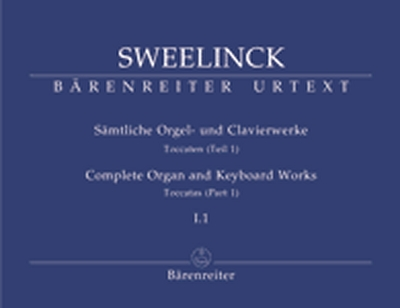 Sämtliche Orgel- Und Clavierwerke, Band I.1: Toccaten (Teil 1)