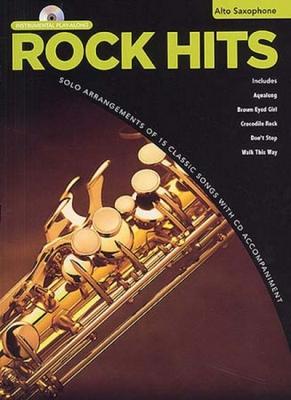 Rock Hits Instrumental Playalong Alto Saxophone Cd