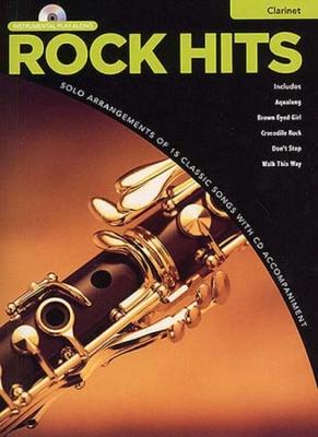 Rock Hits Instrumental Playalong Clarinet Clt Cd