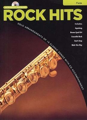 Rock Hits Instrumental Playalong Flute Cd
