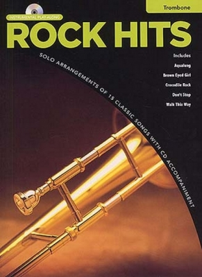 Rock Hits Instrumental Playalong Trombone Cd