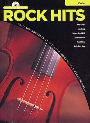 Rock Hits Instrumental Playalong Violin Cd
