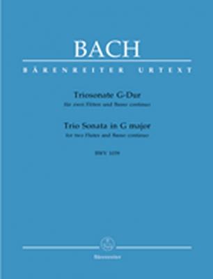 Bach Johann Sebastian : Triosonate für zwei Flöten und Basso continuo