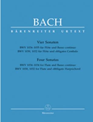 Bach Johann Sebastian : Vier Sonaten