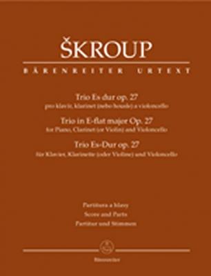 Skroup Frantisek : Trio für Klavier, Klarinette (oder Violine) und Violoncello