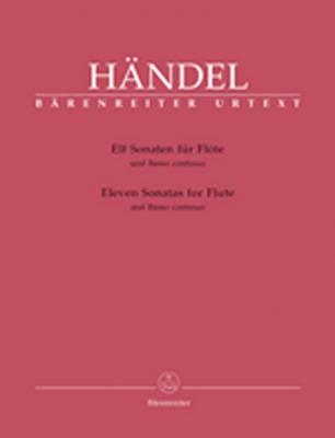 Haendel Georg Friedrich : Elf Sonaten für Flöte und Basso continuo