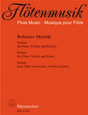 Sonate Für Flöte, Violine Und Klavier (1936)