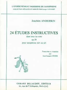 24 Etudes Instructives Dans Tous Les Tons Op. 30