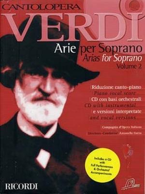 Verdi Giuseppe : CANTOLOPERA: ARIE PER SOPRANO + CD VOLUME 2