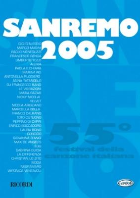 SANREMO 2005 CANZONIERE