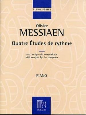 4 Etudes De Rythme, Pour Piano Avec Analyse Du Compositeur
