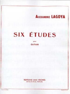 6 Etudes Guitare